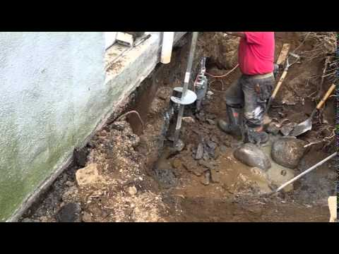 Helical Pile Foundation Underpinning