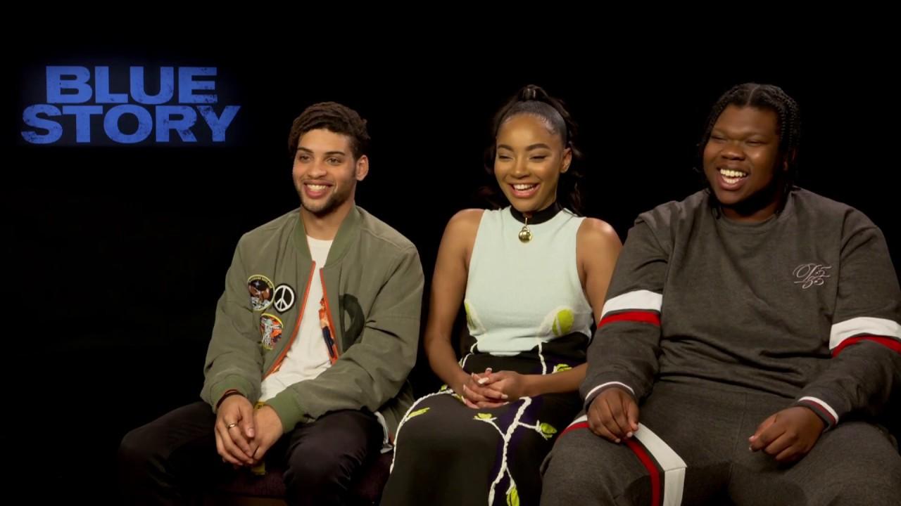 Blue Story | Kadeam, Karla & Rohan Talk Favourite Scenes & More | Interview | MOBO