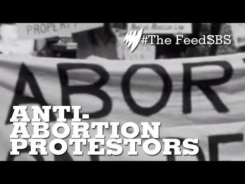 Anti-Abortion Protestors In Australia I The Feed