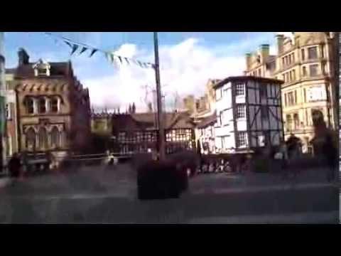 Manchester - Walking on Exchange Street
