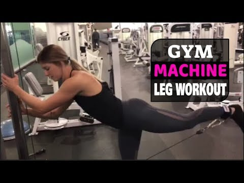 6 Best Leg Exercises Using Machines At The Gym | Full Leg Workout You Must Try!