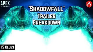 Shadowfall Fight Or Fright Trailer BREAKDOWN! 15 Points To Note Apex Legends Collection Event