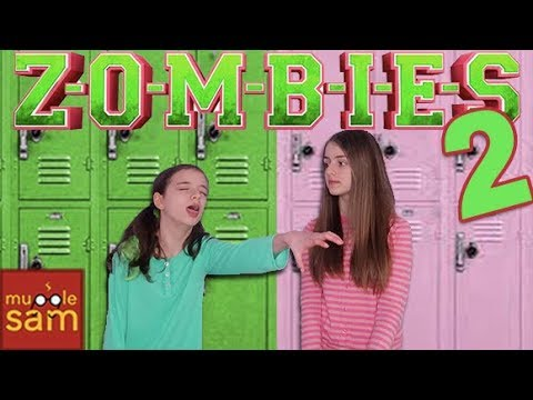 ZOMBIES 2  Disney Channel  The Audition 😂  Sophia & Bella Mugglesam