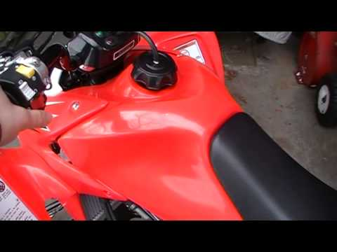 how to start a honda trx450r atv with electric starter youtube 04 yfz 450 wiring diagram how to start a honda trx450r atv with electric starter