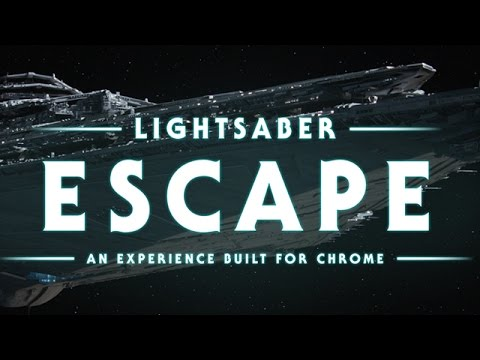 Google Lightsaber Escape