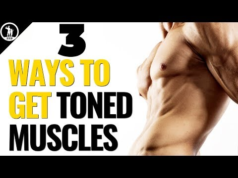 How To Get More Toned Muscles Lose Fat & Gain Muscle At The Same Time
