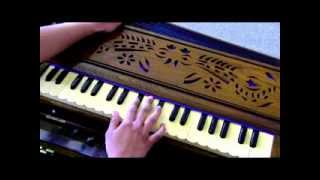 How to play - Jana Gana Mana on Harmonium/Keyboard (with notes)