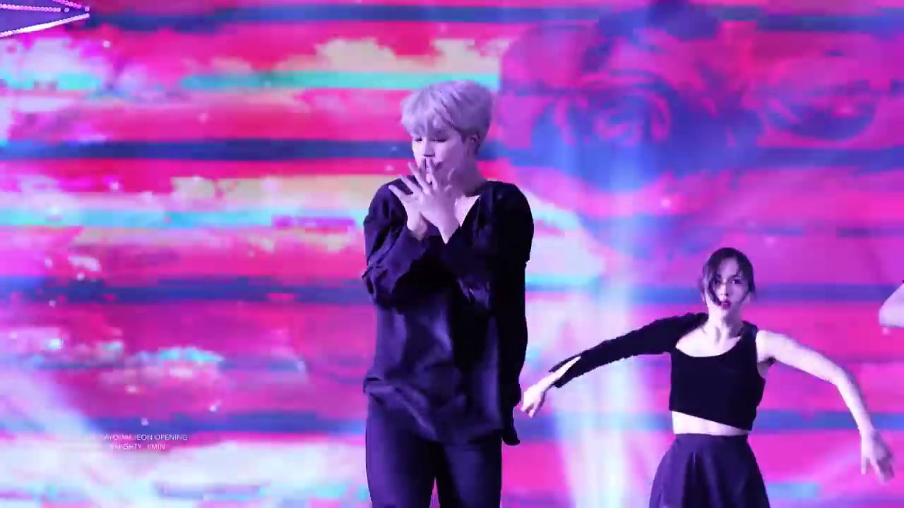 BTS 161116  Jimin   Opening + Modern Dance @ SBS Gayo Daejun 2016