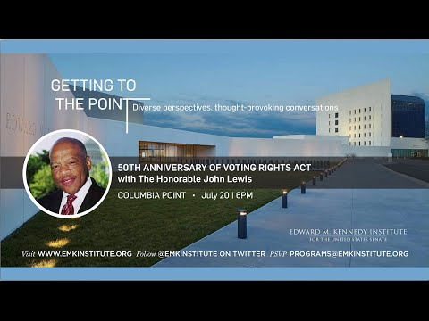 John Lewis speak on the 50th Anniversary of the Voting Rights Act