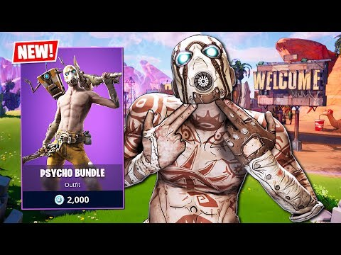 FORTNITE X BORDERLANDS!! (Fortnite Battle Royale)