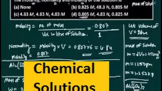 IIT JEE chemistry video lecture   Chemical solutions