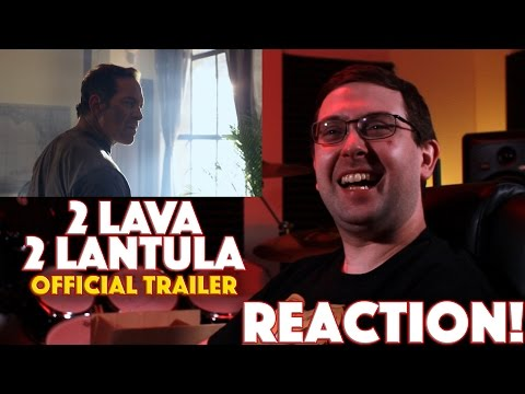 REACTION! 2 Lava 2 Lantula Official Trailer - SyFy Movie 2016