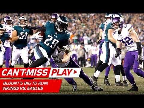 LeGarrette Blount's Big Truck Stick TD Run vs. Minnesota! 🎮 | Can't-Miss Play | NFC Championship HLs