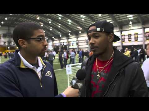 Pro Day One-On-One with E.J. Gaines