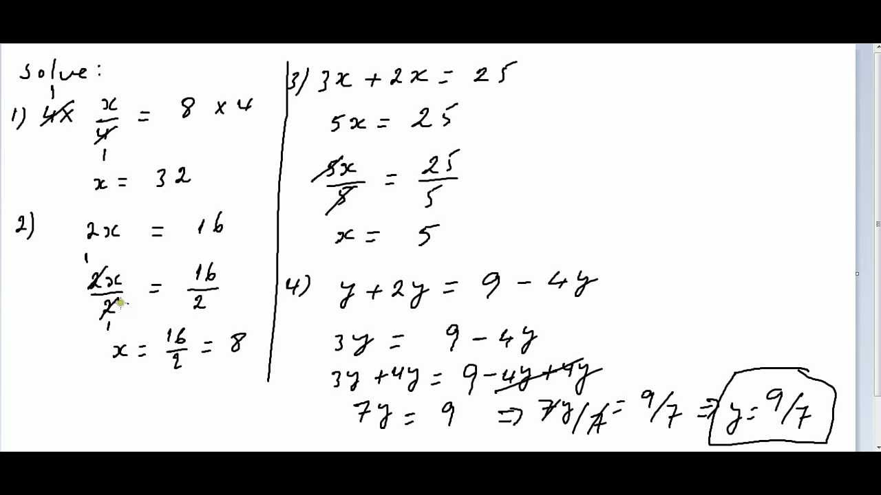 xisaab algebra 02 - YouTube