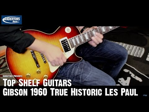 Top Shelf Guitars - Gibson Les Paul 1960 True Historic - Serial No 0 5022