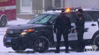 Download Video 02-18-2018 Rapid City, South Dakota - Heavy Snow, Accidents (Daytime and Evening) MP3 3GP MP4