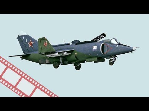 Уникальный самолет с вертикальным взлетом Як-38
