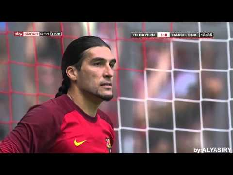 Philipp Lahm goal on Barcelona full hd 1080