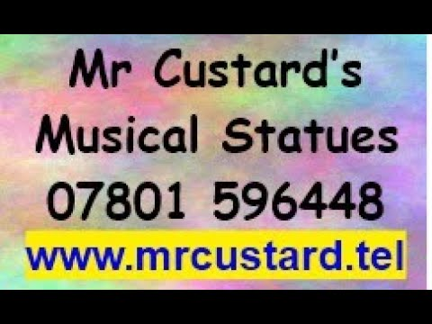 Mr Custard's 1st Very Own Musical Statues