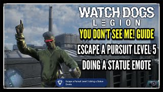 Watch Dogs Legion Statue Emote Location (You Don't See Me Trophy Guide)