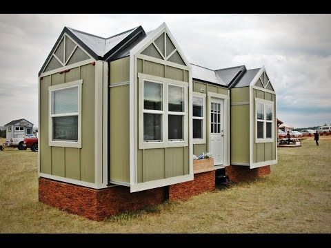 Tiny House Jamboree Model Has 3 Motorized Slideouts