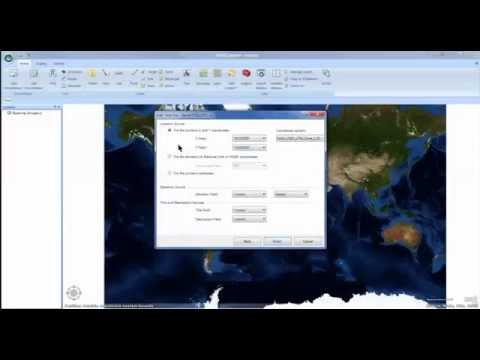 07B: ArcGIS 10, Arc Explorer: Importing Excel File