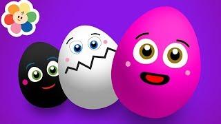 Aprende los Colores con Huevo Sorpresa | Aprende Todos Los Colores | Pandilla de Colores | BabyFirst