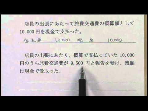簿記3級 b3_0414仮払金・仮受金