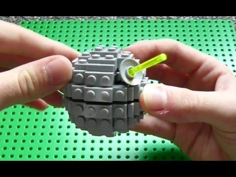 How To Build Lego Star Wars Mini Death Star Youtube
