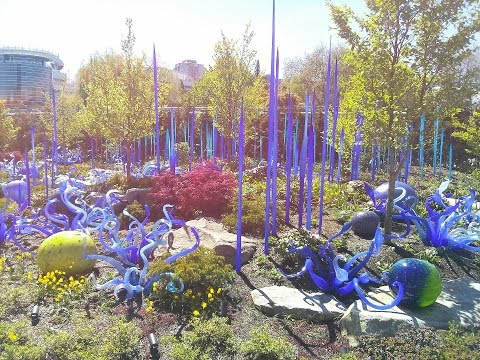 Chihuly Garden and Glass Seattle, Washington, USA | Chihuly Garden Compilation Travel videos Guide
