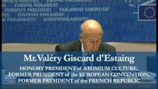 Atomium Culture - Valéry Giscard d