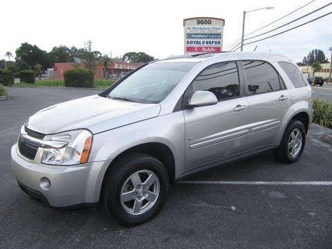 SOLD 2008 Chevrolet Equinox LT 96K Miles One Owner Meticulous Motors Inc Florida For Sale