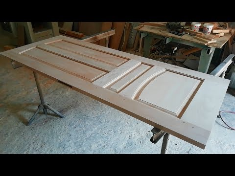 Door made of very solid wood
