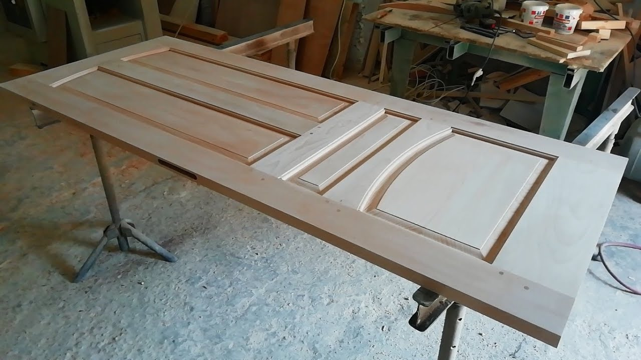 Door Made Of Very Solid Wood Youtube Wood panels are ready to hang or tabletop display. door made of very solid wood