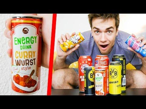 VERRÜCKTE DRINKS 😱 - CURRYWURST, Popcorn .. (Experiment)