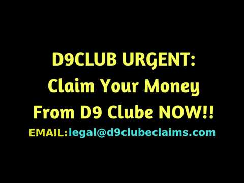 D9CLUBE: Here is how to claim your money back
