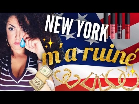 NEW YORK m'a ruiné !