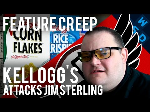 The Kellogg's Company Attacks Jim Sterling | Feature Creep By Tarmack