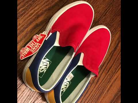YACHT CLUB SLIP ON VANS PREVIEW/UNBOXING