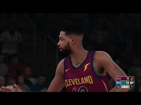 NBA 2K18 Cleveland Cavaliers vs Oklahoma City Thunder