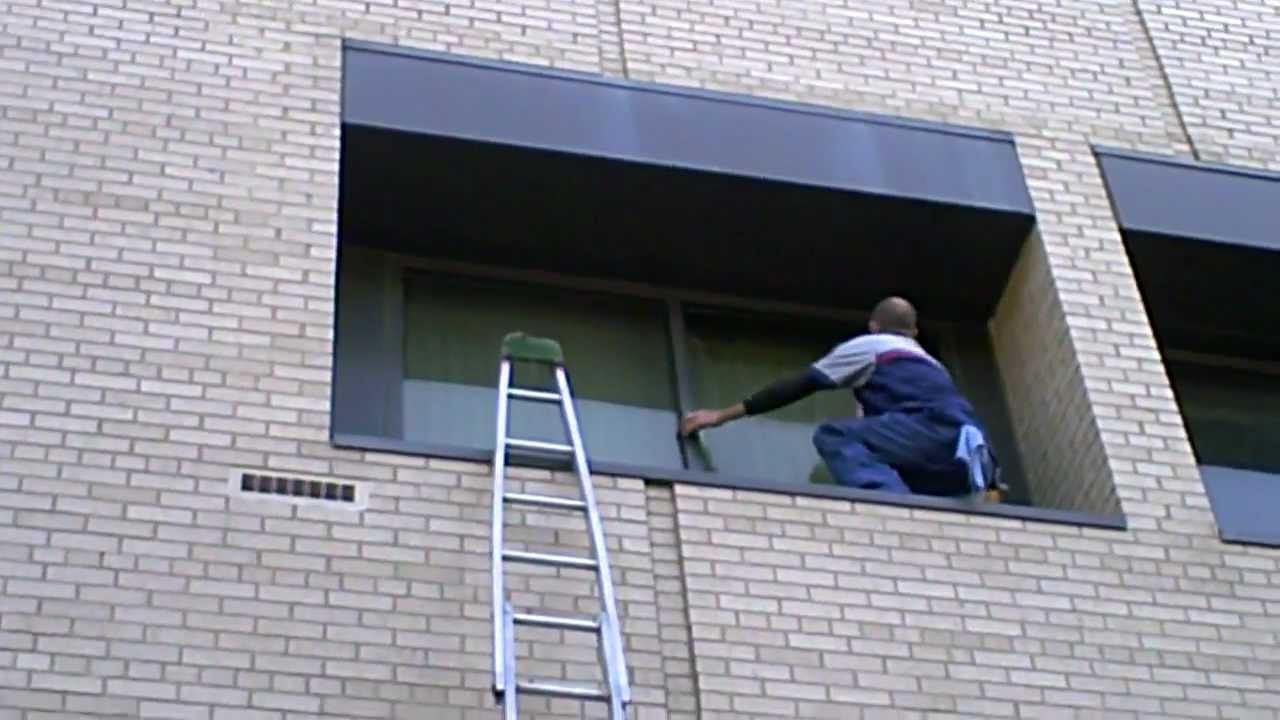 window cleaning 5 piece ladder work dayton oh