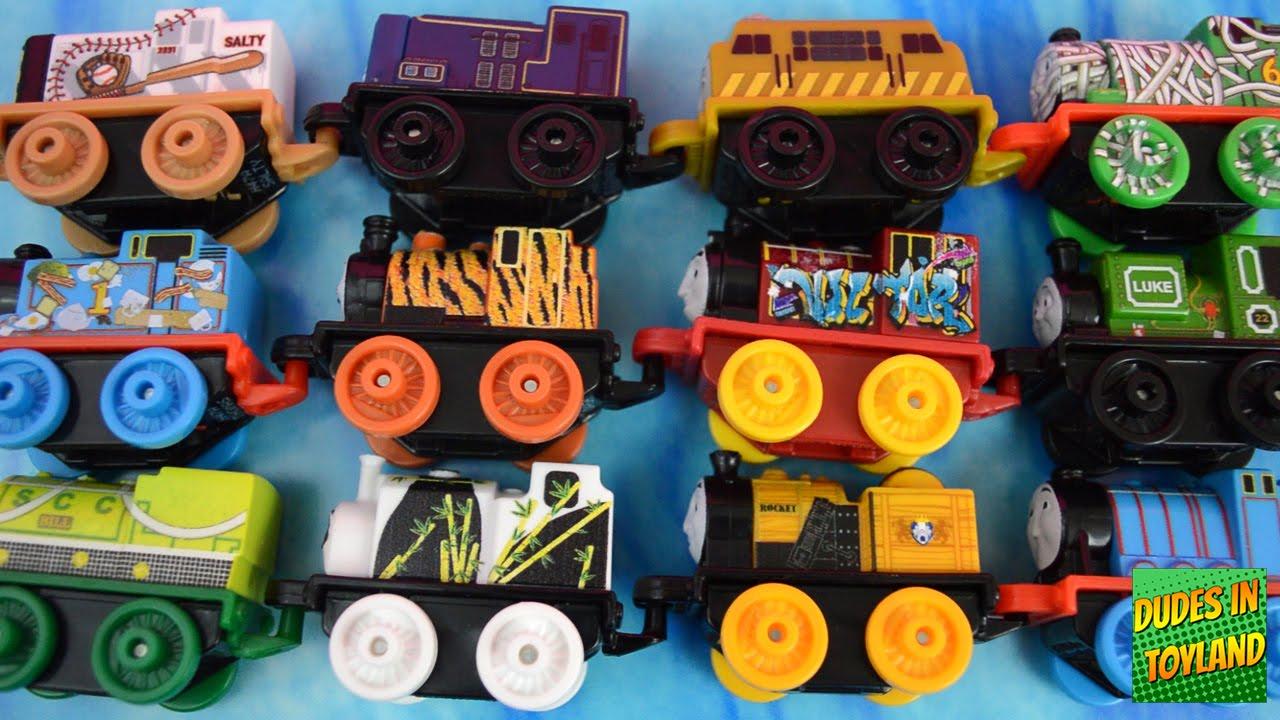 Thomas MINIS 2016 NEW 7-PACKS mini train toys for children 托马斯小火车 tomas el tren