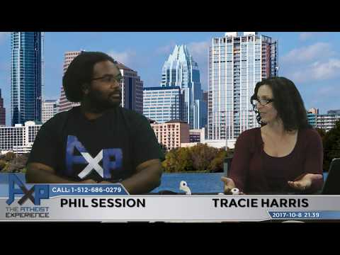 Atheist Experience 21.39 with Tracie Harris and Phil Session