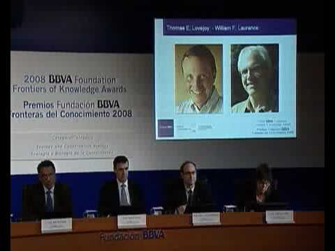 Thoman E. Lovejoy y William F. Laurance, premio Fronteras en Ecología  2008
