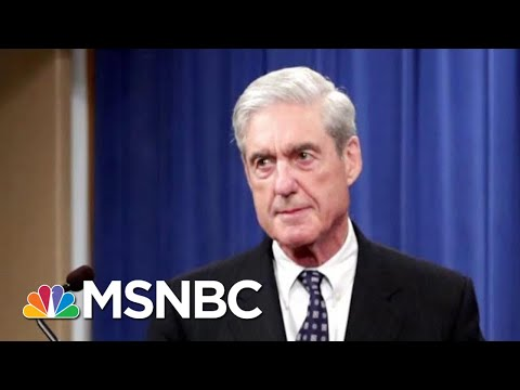 Robert Mueller Spoke. And His Message Couldn't Have Been Clearer. | Deadline | MSNBC