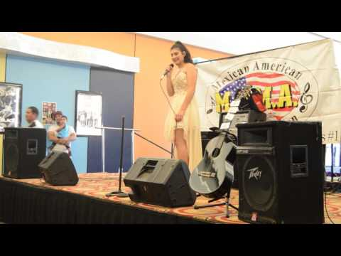 Brianna Rios- Selena tribute at music city mall 2017.