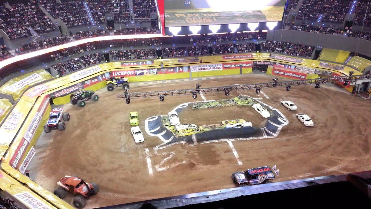 Monster Jam Arena Ciudad De Mexico Caballitos Youtube