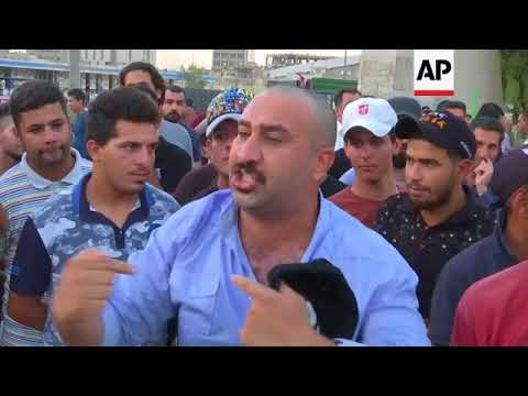 Protest in Baghdad over economy and unemployment