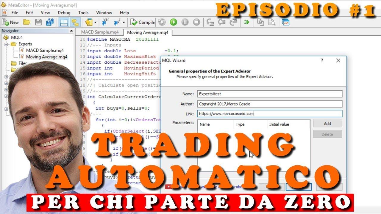 trading automatico mt4 crypto scambiare senza tasse